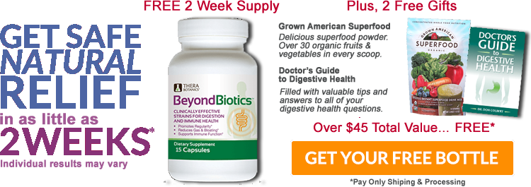 Beyond Biotics Safe Natural Relief For Gas And Bloating